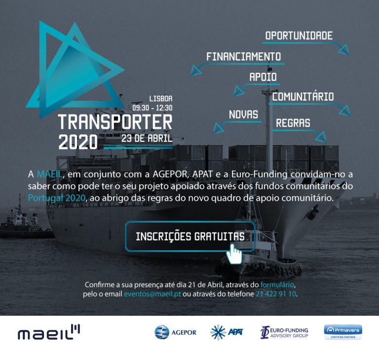 Transporter 2020, veja o seu Projeto apoiado através do Portugal 2020