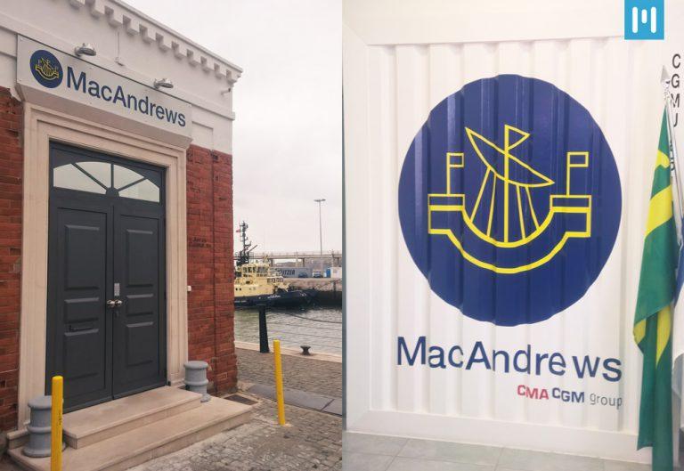 MAEIL visita cliente MacAndrews, especialista em Shipping de ShortSea