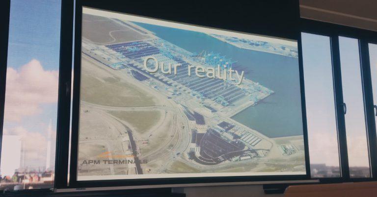Visita ao terminal APMT Maasvlakte II
