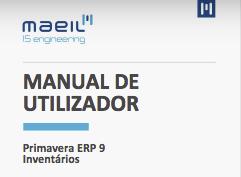 Manual ERP Primavera para Gestão de Inventários