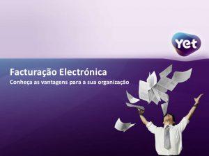 Faturação Eletrónica YET