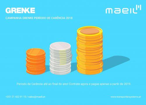 Campanha GRENKE Período de Carência 2018