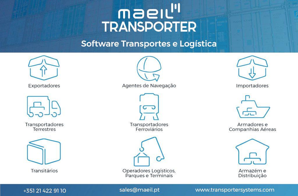soluções informática Maeil para Transportadores, Transitos e Logística