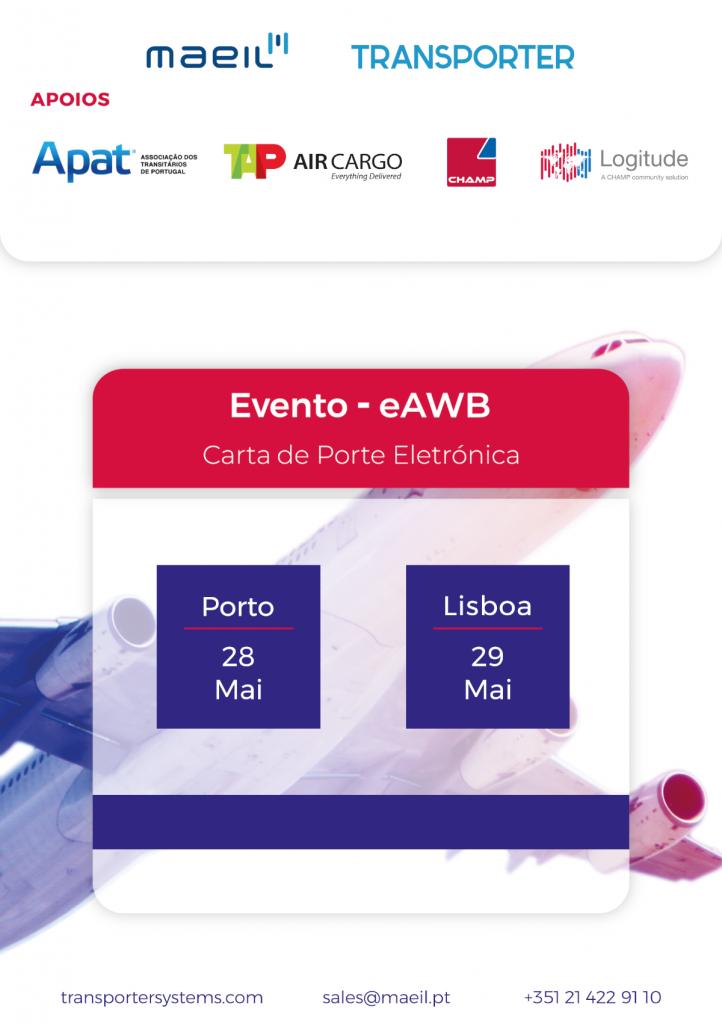 Evento e-AWB Carta de Porte Eletrónica