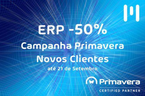 ERP Primavera com Desconto de 50%
