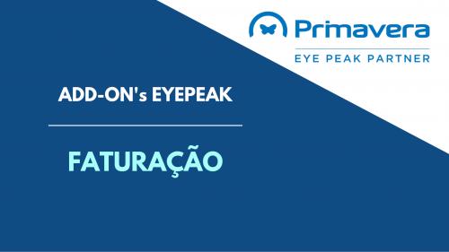 Eyepeak – AddOn Faturação